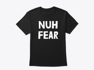 NUH FEAR - T-SHIRT (LOGO BLACK) main photo