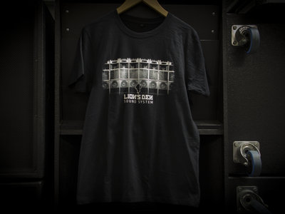 Lion's Den Sound System - T-Shirt - black main photo