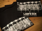 Lion's Den Sound System - T-Shirt - black photo