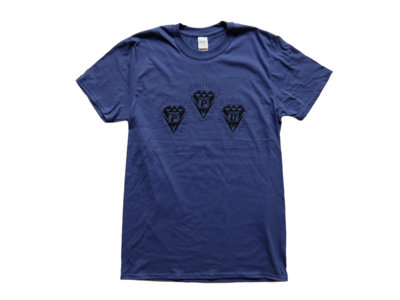 """PPU PEOPLES POTENTIAL UNLIMITED """"UNDERGROUND INFRASTRUCTURE"""" DIAMOND LOGO T-SHIRT - ROYAL main photo"""