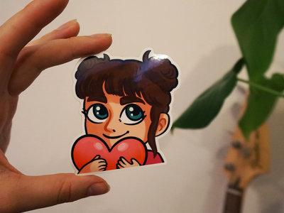 Heart Emote Sticker main photo