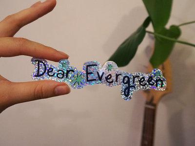 Green Dear Evergreen Logo Sticker main photo