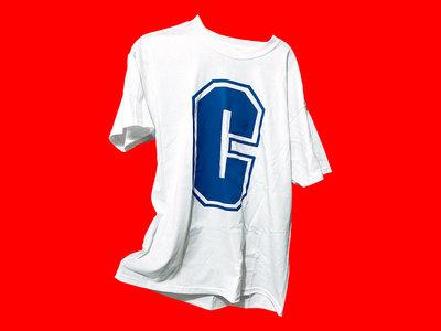 White stage t-shirt main photo