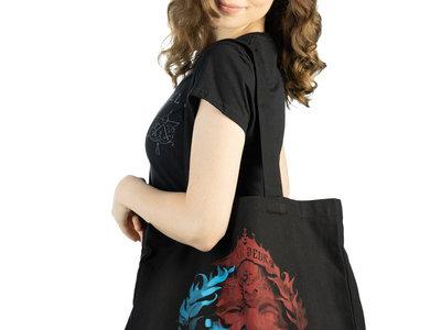 Silk-screened Organic Cotton Tote Bag main photo