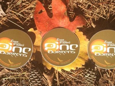"Cloud People •Evan Wilder's Pine Barrens •3 x 3"" Stickers main photo"