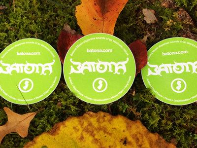 "Batona Music •Sounds Of An Electronic Nature •3 x 3"" Stickers main photo"