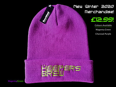 Keepers Brew Embroidered Beanie. main photo