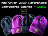 Keepers Brew Embroidered Beanie. photo