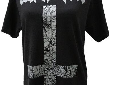 Silver & Black Attack T-Shirt main photo