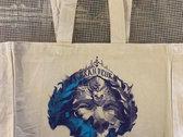 Silk-screened Organic Cotton Tote Bag photo