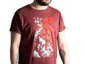 Men's/Unisex GRANDEUR T-Shirt - Burgundy photo