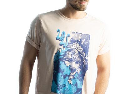 Men's/Unisex GRANDEUR T-Shirt - Misty Pink main photo