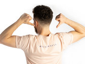 Men's/Unisex GRANDEUR T-Shirt - Misty Pink photo
