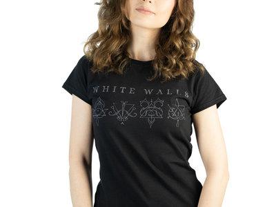 Ladies' White Walls T-shirt - Black main photo