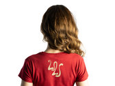 Ladies' White Walls T-shirt - Antique Cherry Red photo