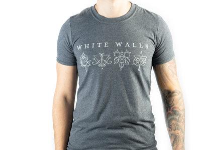Men's White Walls T-shirt - Dark Heather (gray) main photo