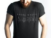Men's White Walls T-shirt - Black photo