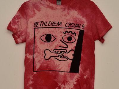 Cherry pink Tie Dye Short Sleeve T-Shirt main photo