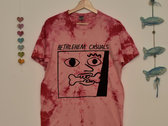 Cherry pink Tie Dye Short Sleeve T-Shirt photo