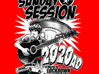 Swill's Sunday Session Tshirt - RED EDITION main photo