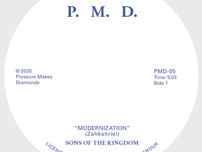 "Sons Of The Kingdom - Modernization / Hey There – 7"" Vinyl main photo"