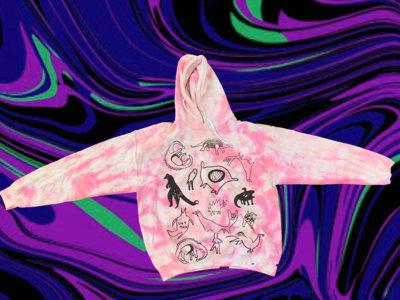 Tie die THUMP hoodies by Lxix main photo