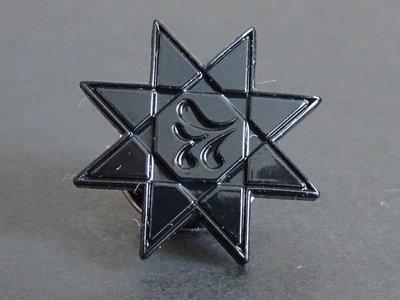 Black Sigillum S Star lapel pin main photo