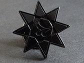 Black Sigillum S Star lapel pin photo