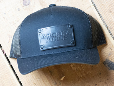 Official Arcana Kings Hats - Black Rectangle main photo