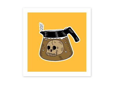 Coffee Pot Print main photo