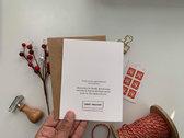 Christmas Cards - 1 Card photo