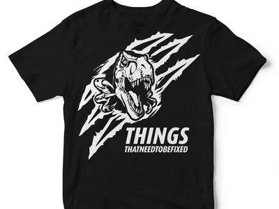 Black Dino Shirt (scratch logo) main photo
