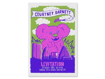 Courtney Barnett Levitation Screen Print Poster main photo