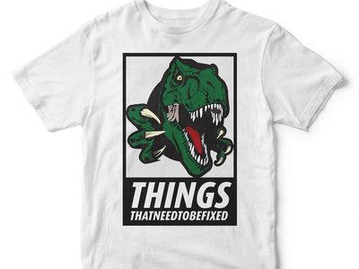 White Dino Shirt main photo