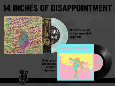 14 INCHES OF DISAPPOINTMENT -- Intercourse - Bum Wine EP, Knock Over City - it's rad, dude. EP main photo