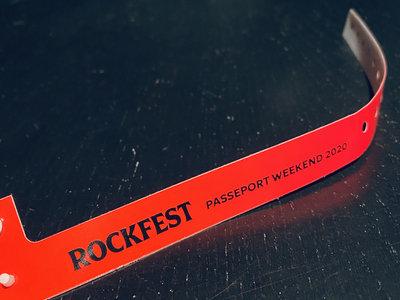 Rockfest 2020 - Bracelet Passeport / Wristband Pass main photo