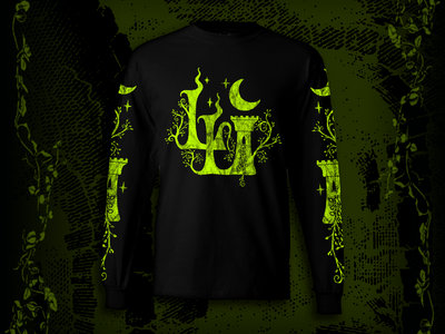 Black/Chartreuse Lord Lovidicus Longsleeve Shirt main photo