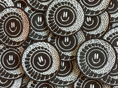 "Embroidered  ""Ouroboros Smile"" patch photo"