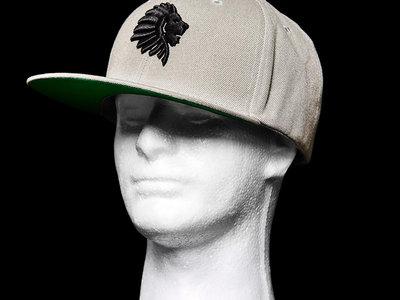 WATB Raised 3D Embroidered Snapback (Grey) main photo