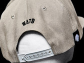 WATB Raised 3D Embroidered Snapback (Grey) photo