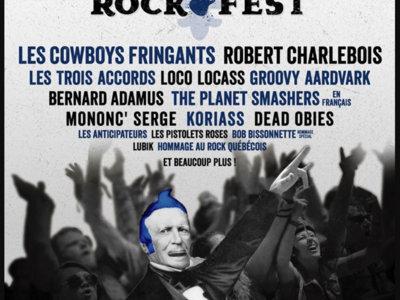 St-Jean du Rockfest 2017 - Affiche originale / Poster Original Print *RARE main photo