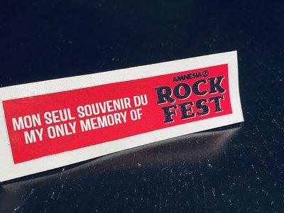 Rockfest Collant / Sticker main photo