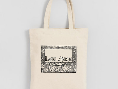 Late Music Tote Bag main photo