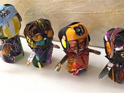 BoonDolls - 3-D Papercraft Figures (Set of 4) main photo