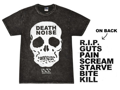 Death Noise Shirt (Mineral Wash) main photo