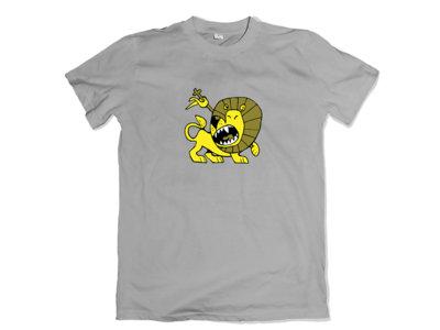 Lion design - Grey T-Shirt main photo