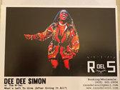 "Dee Dee Simon w/ The M-Tet Cocaine Wte Promo 7"" Single photo"