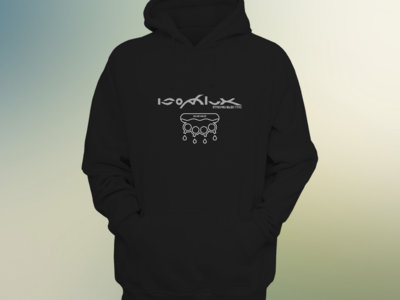 "Isophlux ""Strong Electric"" Gosub Design - Black Hoodie (Hand Printed) main photo"