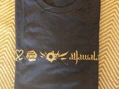 Jawala Logo Shirt (goldprint) photo