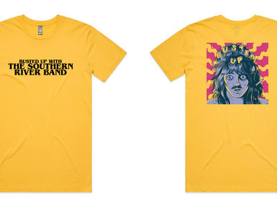 Yellow Busted Up Tee main photo